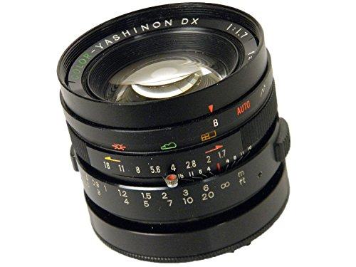 COLOR YASHINON-DX 45mm f1 7 ブラック 4/3マイクロフォーサーズマウント改造