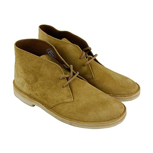 (CLARKS Men's Desert Chukka Boot, Oak Suede, 105 M US )