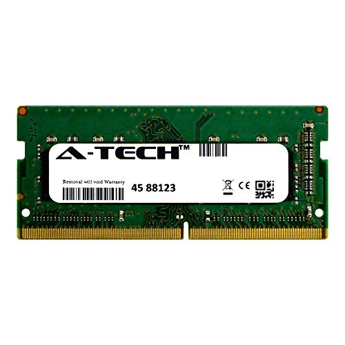 A-Tech 4GB Module 2133Mhz PC4-17000 260-Pin So-Dimm DDR4 1.2v Non ECC 1rx8 Laptop & Notebook Computer Memory Ram Stick (AT4G1D4S2133NS8N12V)