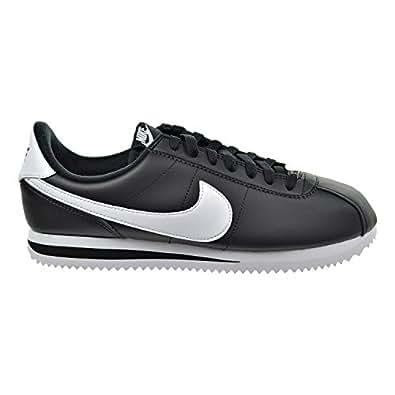 Amazon.com | Nike Cortez Basic Leather Men's Shoes Black
