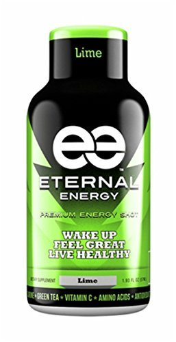 Eternal-Energy-shot-LIME-flavor-The-healthy-choice-to-lasting-energy-with-25-vitamins-amino-acids-and-antioxidants-The-ingredients-in-Eternal-Energy-are-proven-to-provide-Balanced-Energy-Increased-Foc