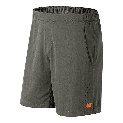 New Balance Men's Tournament Shorts, Military Foliage Green, XX-Large/9