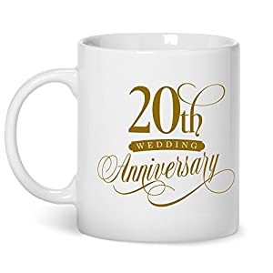 Amazon.com: 20th Wedding Anniversary, platinum Wedding Gifts, 20th ...