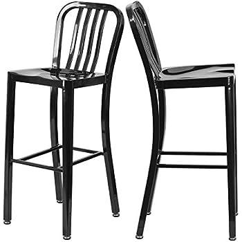 Amazon.com: Moderno taburete de metal de alta calidad de ...