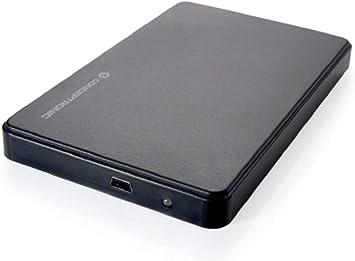 Conceptronic C20-252 Caja Disco Duro 2.5 Pulgadas Mini, Negro: Amazon.es: Electrónica