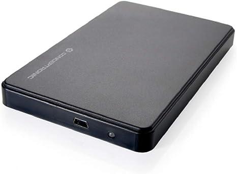 Conceptronic C20-252 Caja Disco Duro 2.5 Pulgadas Mini, Negro ...