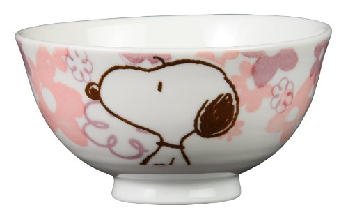 Tropical Snoopy cup ( Pink ) STR-002 by Osawa pottery