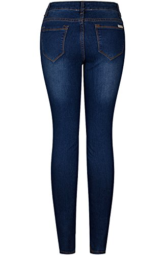 2LUV Women's 5 Pocket Ankle Stretch Skinny Jeans 15