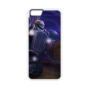 iPhone 6 Plus 5.5 Inch Cell Phone Case White League of Legends Blitzcrank 005 JSY4269047KSL