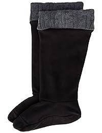 Chooka Women's Cable-Knit Fleece Liner Rain Boot