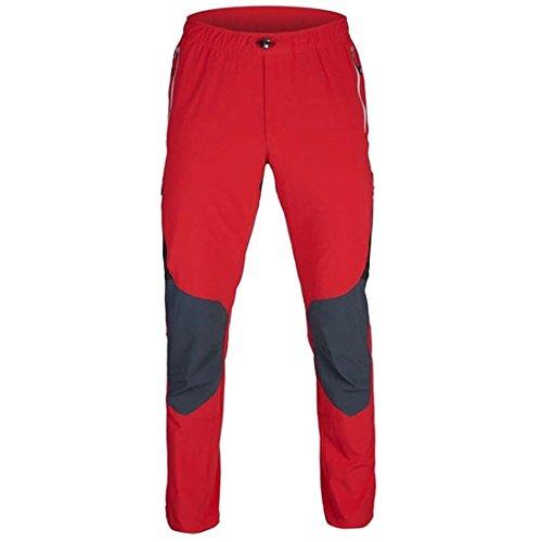 Ternua ® Outdoor Hose Kelby Herren rot Whales grau