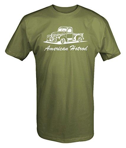 American Hotrod International Dodge 1940's 1950's Pickup Truck Lowered T shirt - ()