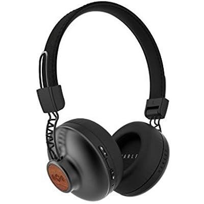 House of Marley EM-JH133-SB - Cascos inalámbricos, Auriculares con Bluetooth, Color Negro