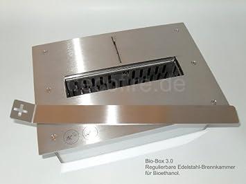 Bio Box 3.0   Ethanol Brenner   Brennkammer Für Offenen Kamin   Burner    Biokamin