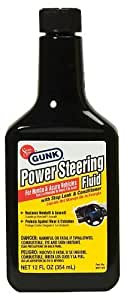 Motor Medic by Gunk M2714H/6 Power Steering Fluid with Stop Leak & Conditioner for Honda and Acura - 12 oz.