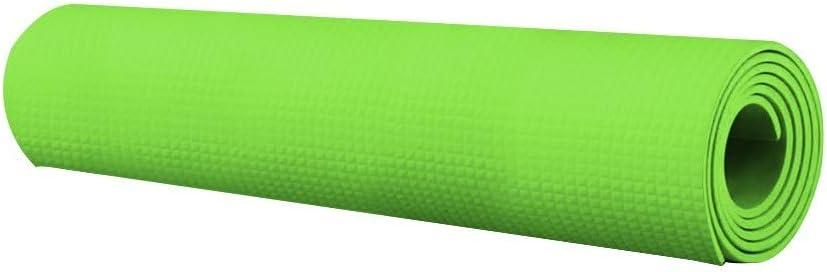 BJYXSZD Thick Yoga Mat 4mm Durable Non Slip Exercise & Fitness Mat Sport Mats Gymnastic Pilates Fitness Mat Non-Slip Waterproof Exercise for Home Gym Floor Workouts Equipment