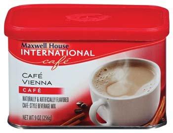 Maxwell House International Cafe Vienna Beverage Mix 9 Oz