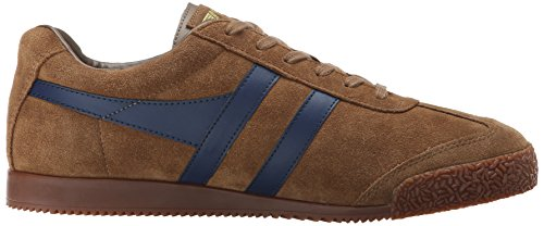 Gola Men's Harrier Fashion Sneaker Tobacco/Navy buy cheap fake sale latest collections Manchester clearance huge surprise buy cheap professional kKYld