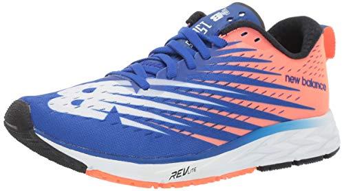 New Balance Men's 1500v5 Running Shoe, uv Blue/Dark Mango, 8 D US