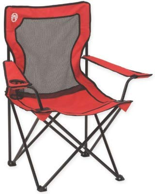 Coleman Broadband Mesh Quad Camping Chair (Set of 2) by Coleman