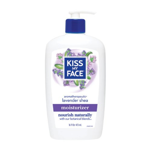 Kiss My Face Kiss my face moisturizer lavender & shea butter 16 - Moisturizer Kiss Butter Face My