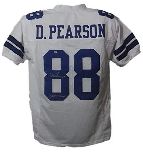 - Autographed Drew Pearson Jersey - XL White SB XII Champs SGC 20029 - Autographed NFL Jerseys