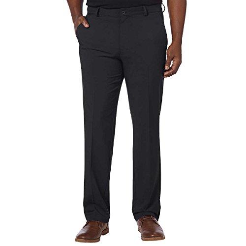 Greg Norman Mens ML75 Ultimate Travel Golf Pants (Black, 32W x 32L)