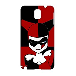 Evil-Store Black and red joker 3D Phone Case for Samsung Galaxy Note3