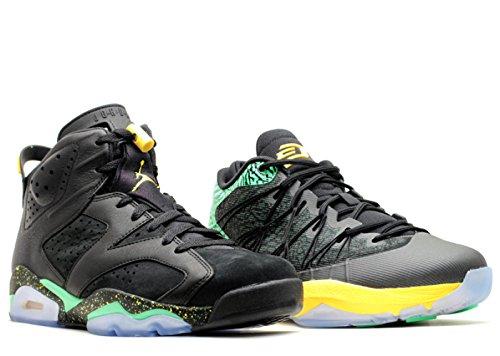 (Nike Jordan Brazil Pack (Jordan Retro 6 and Jordan CP3) Basketball Collezione Shoe Pack (11.5))