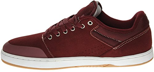 ETNIES Skate Shoes MARANA X HOOK UPS BURGUNDY