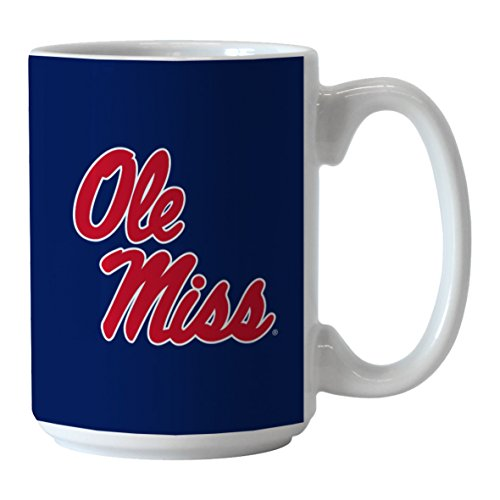 Boelter Brands NCAA Mississippi Ole Miss Rebels Sublimated Victory Mug, 14-Ounce by Boelter Brands