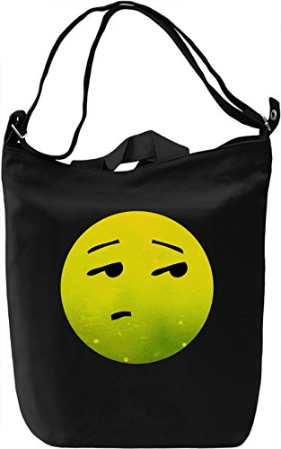 Eyeroll Emoji Borsa Giornaliera Canvas Canvas Day Bag  100% Premium Cotton Canvas  DTG Printing 