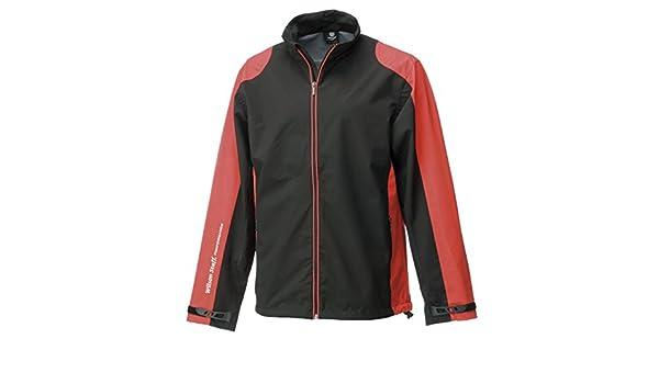 WILSON Rain Jacket Mens Performance Chaqueta Impermeable de Golf, Hombre, Negro/Rojo, XXL: Amazon.es: Deportes y aire libre