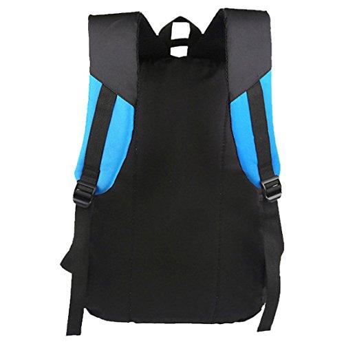 Partiss - Bolso mochila  para mujer Azul