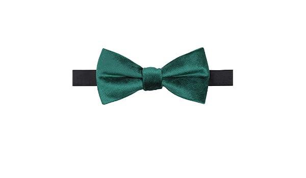 Corbata de Lazo de Terciopelo Verde Esmeralda: Amazon.es: Hogar