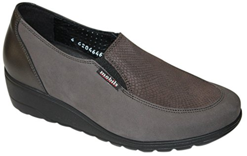 MEPHISTO BERTRANE GREY MOCASSINO DONNA MOBILIS