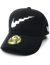 88d569f189f B L K x Gold Supreme  Wavy Dad Hat - Black