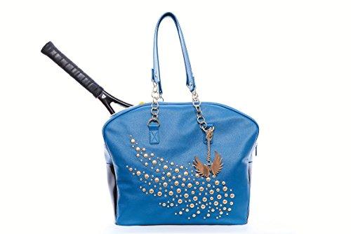 - Cortiglia The Crown Designer Tennis Bag Embellished by Marion Bartoli