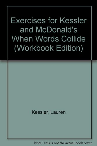 Exercises for Kessler and McDonald's When Words Collide (Workbook Edition)