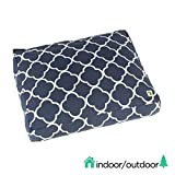 Molly Mutt Indoor/Outdoor Dog Bed Duvet Cover - Durable & Washable - The Iron Sea, Small