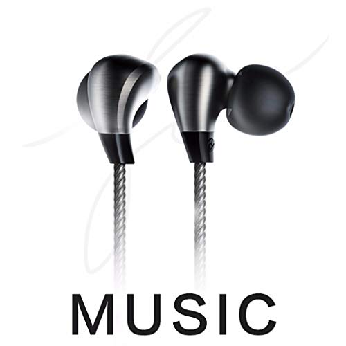 Volity JOCE-X1 Wired Earphone in-Ear Earbuds Bass Stereo Headphones with Remote Mic Headset [2 x Hanging Ears;4 x Earbuds;1 x ()