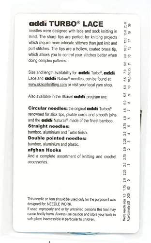 addi Click Lace Replacement 16-inch 40-Cm 1 Unit 40cm Cord Length-16-In.-