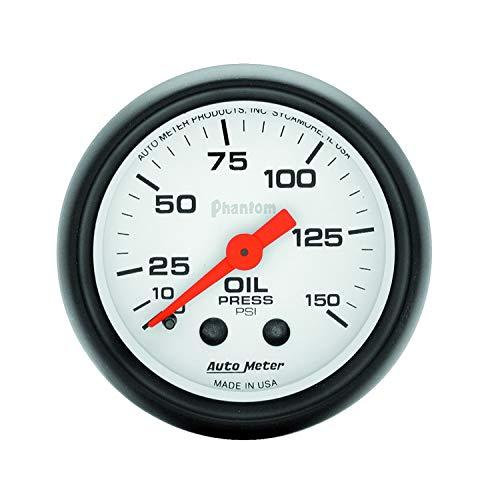 (Auto Meter Phantom 52Mm 150 Psi Mechanical Oil Pressure Gauge By Jm Auto Racing (5723))
