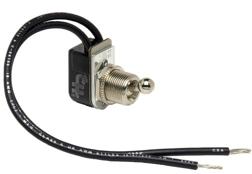 - Cole Hersee (5568-BX) SPST On-Off Toggle Switch with Ball Handle