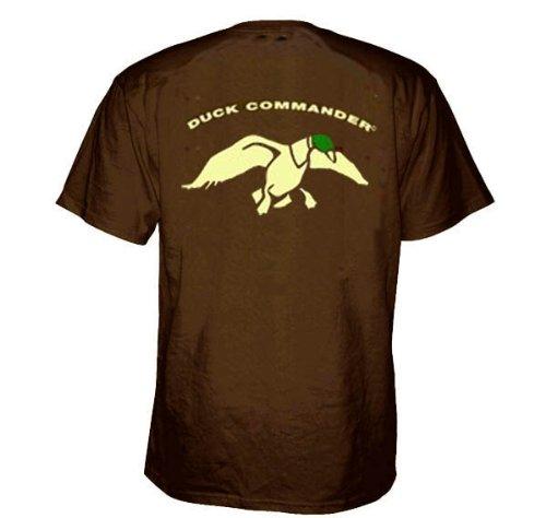 - Duck Commander Logo Green Duck Head Shirt, Small