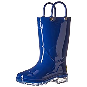 Western Chief Kids' Waterproof PVC Light-up Rain Boot