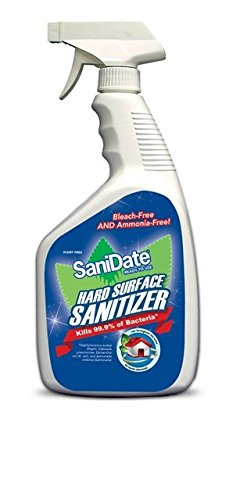 SaniDate Hard Surface Sanitizer 32 oz RTU -Pack of 12