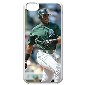 MLB Iphone 5C White Tampa Bay Devil Rays cell phone cases&Gift Holiday&Christmas Gifts NBGH6C9126236