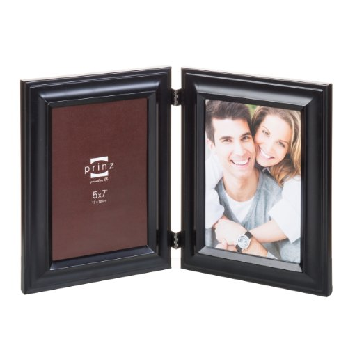 Prinz 2-Opening Monroe Black Metal Collage Frame, 5 by 7-Inc