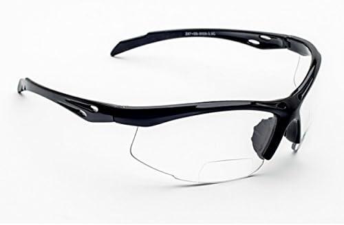 Tipo libro con función de gafas de sol deportivas Bifocal sobre la seguridad de los de la lectura de lupa para SB-9000 juego de protectores de